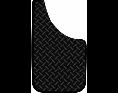 PlastiColor Diamond Plate Easy Fit Mud Guards