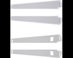 Dee Zee Stainless Steel Wrap Side Bed Caps