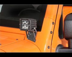 Rigid Industries LED Light A-Pillar Mounting Brackets