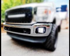 Rigid Industries LED Fog Light Mounting Brackets