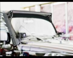Rigid Industries LED Light Bar Windshield Mounting Brackets