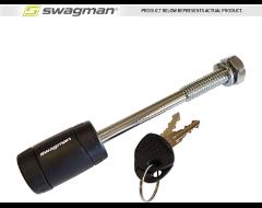 """Swagman Anti-Rattle Threaded 1/2"""" Locking Hitch Pin"""