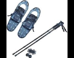 Swagman Snowshoes & Poles Bundle