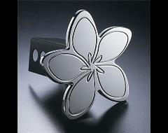 AMI Aluminum Trailer Hitch Cover - Hula Meria Flower