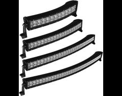RTX Single Row Curved LED Light Bars