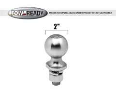 "Tow Ready 2"" Diameter Trailer Hitch Ball"
