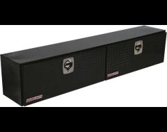 Weatherguard Hi-Side Mount Tool Box - Glossy Black Aluminum