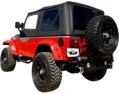 Rampage Complete Soft Top Kit