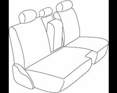 Northwest Total Vinyl 2nd Row Custom Fit Seat Covers