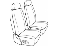 Northwest Ballistic Polypro 1st Row Custom Fit Seat Covers