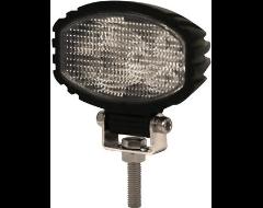 Ecco Oval LED Flood Beam Worklamp