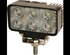 Ecco Rectangular LED Flood Beam Worklamp