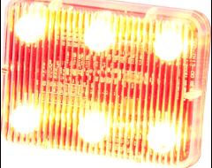 Ecco Stick-A-LED Warning Light - Amber