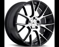 Adventus Wheels AV7 - Gloss Black Machined