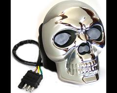 Highland Skull Lighted Hitch Cover
