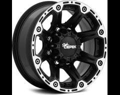 Dick Cepek Wheels DC Torque - Flat Black with Machined Flange