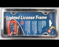 Highland Chrome Lighted License Plate Frame