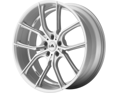 Adventus Wheels AVX-6 - Silver Machined