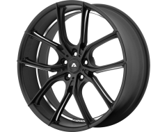 Adventus Wheels AVX-6 - Matte Black Milled