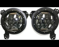 Iron Cross Automotive Head Light Assembly