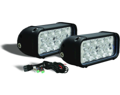 Iron Cross Automotive LED Light Kit For Front Bumper