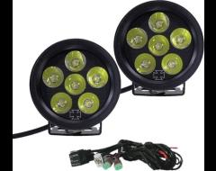 Iron Cross Automotive LED Fog Light Kit For Front Bumper