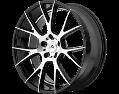 Adventus AVX-7 Series Wheels - Gloss black machined