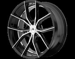 Adventus AVX-6 Series Wheels - Gloss black machined