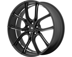 Adventus Wheels AVX-6 - Matte Black - Milled