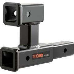 Curt Dual Receiver Tube Extension