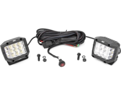 Rough Country Wide Angle OSRAM LED Light Kit