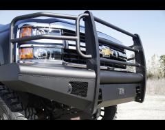 FabFours Black Steel Elite Front Bumper