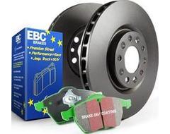 EBC Brakes S11 Kits Greenstuff 2000 and RK Rotors