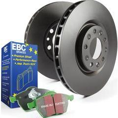EBC Brakes S14 Kits Greenstuff and RK Rotors SUV