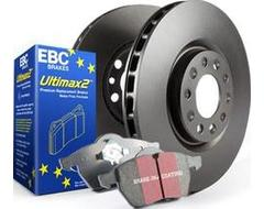 EBC Brakes S20 Kits Ultimax and Plain Rotors