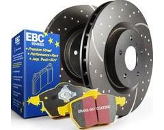 EBC Brakes S5 Kits Yellowstuff And GD Rotors