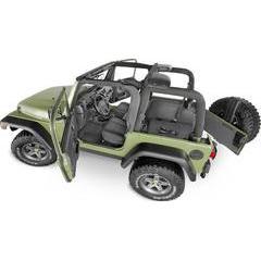 Bedrug BedTred Full Coverage Jeep Wrangler Cargo Liners
