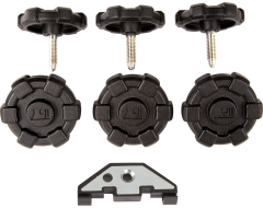 Rugged Ridge Hard Top Quick Release Kit w/ Clips