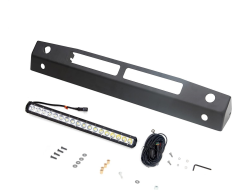 Rampage Skid Plate with Light Bar