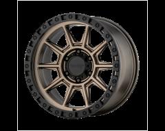 American Racing Wheels AR202 Matte Bronze Black Lip