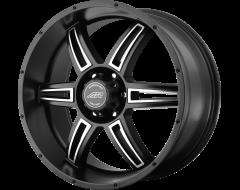 American Racing Wheels AR890 Satin Black Machined