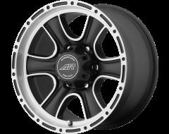 American Racing Wheels AR902 Satin Black Machined