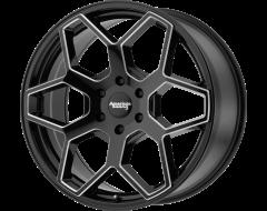 American Racing Wheels AR916 Gloss Black Milled Spokes