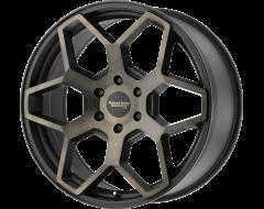 American Racing Wheels AR916 Satin Black with Dark Tink Clear Coat