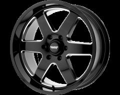 American Racing Wheels AR926 PATROL Gloss Black Milled Spokes