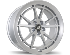 Braelin Wheels BR11 Satin Silver with Satin Machined Face