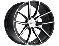 Cray Wheels SPIDER Gloss Black with Mirror Face