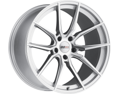 Cray Wheels SPIDER Silver with Machined Face