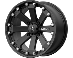 MSA Wheels M20 KORE Satin Black