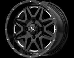 MSA Wheels M26 VIBE Gloss Black Milled
